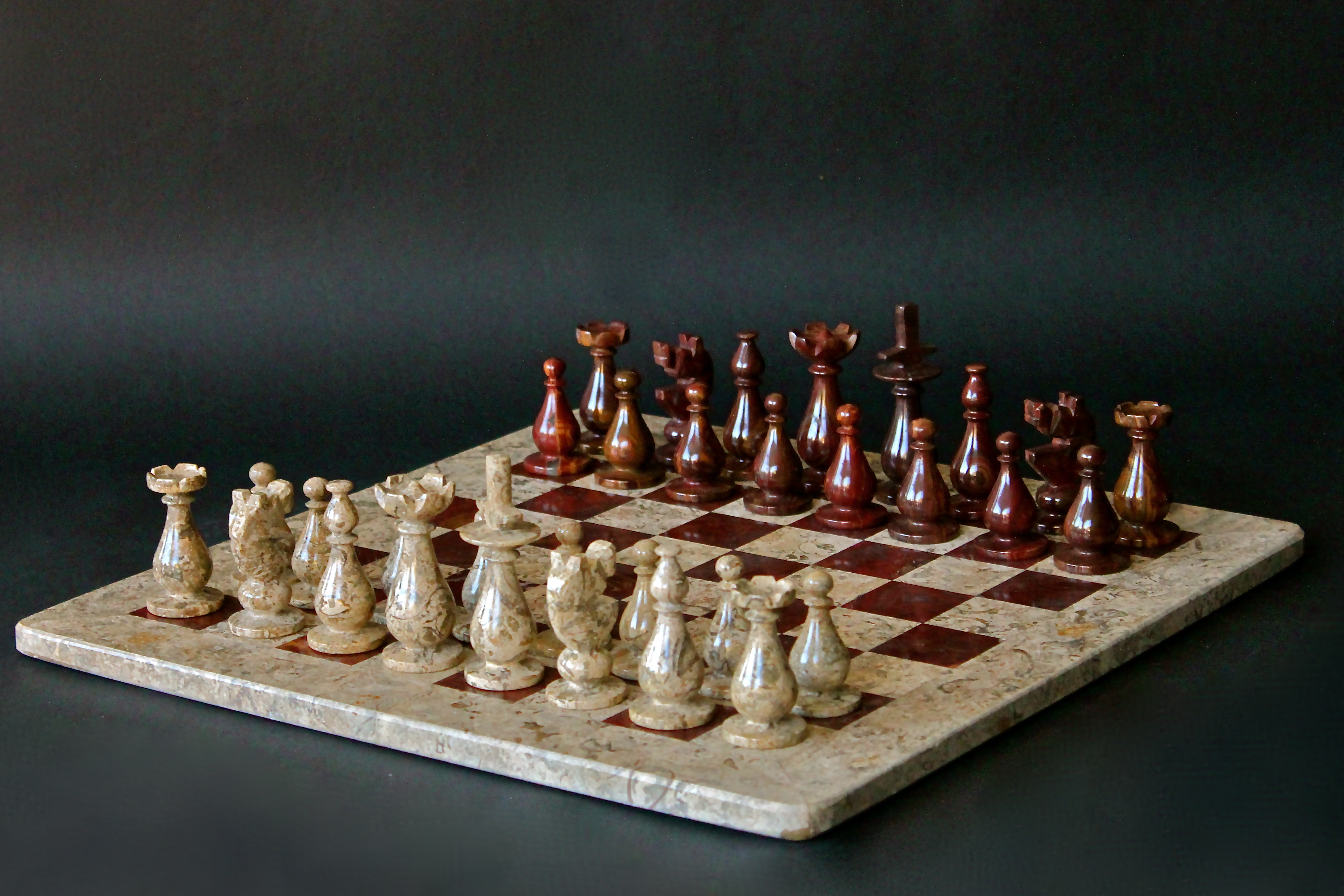 Marble chess sets kingtoy australia - Granite chess pieces ...